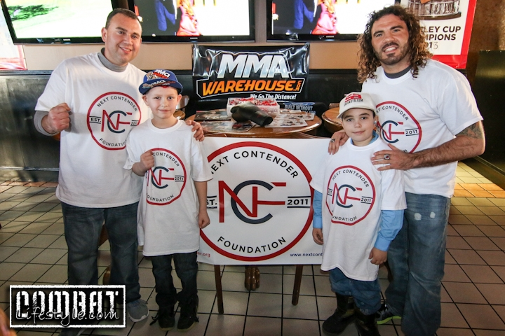 Clay Guida Next Contender Foundation Charity Event