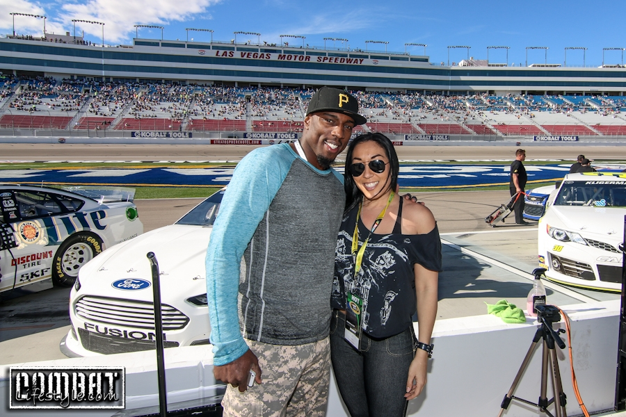 Nascar Racing Excitement with UFC Light Heavyweight Phil Davis