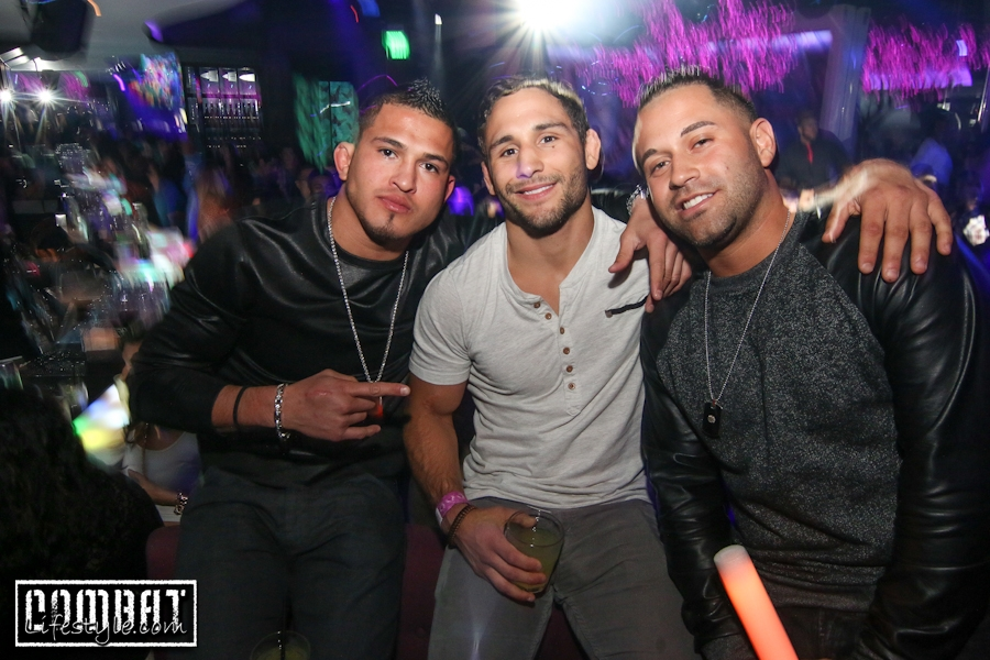 Anthony Pettis Preparty at Plush Nightclub in Dallas