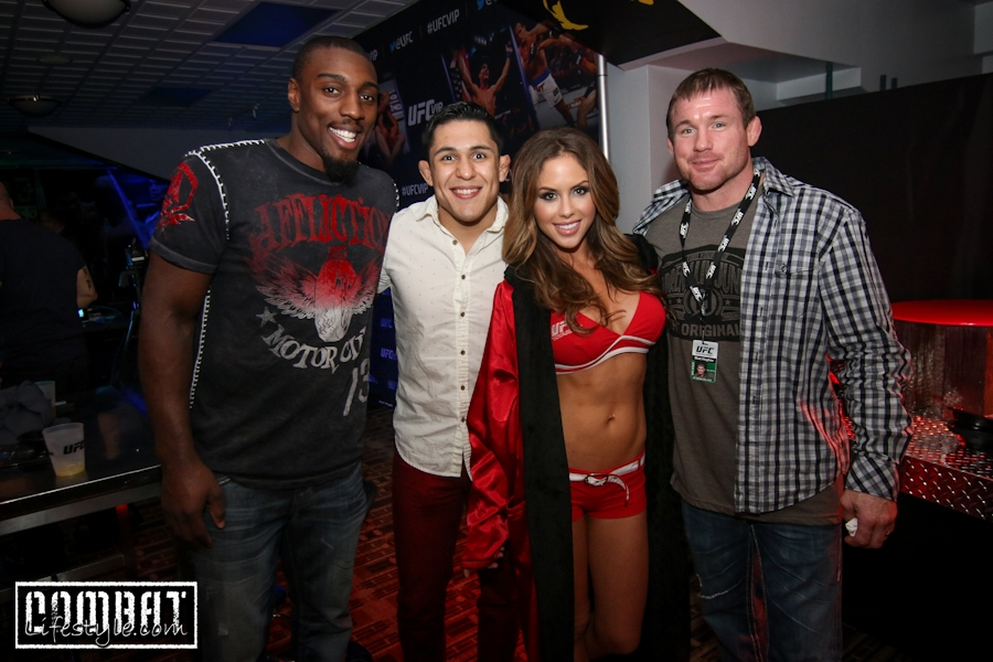 We Checked out UFC VIP Experience at UFC 171