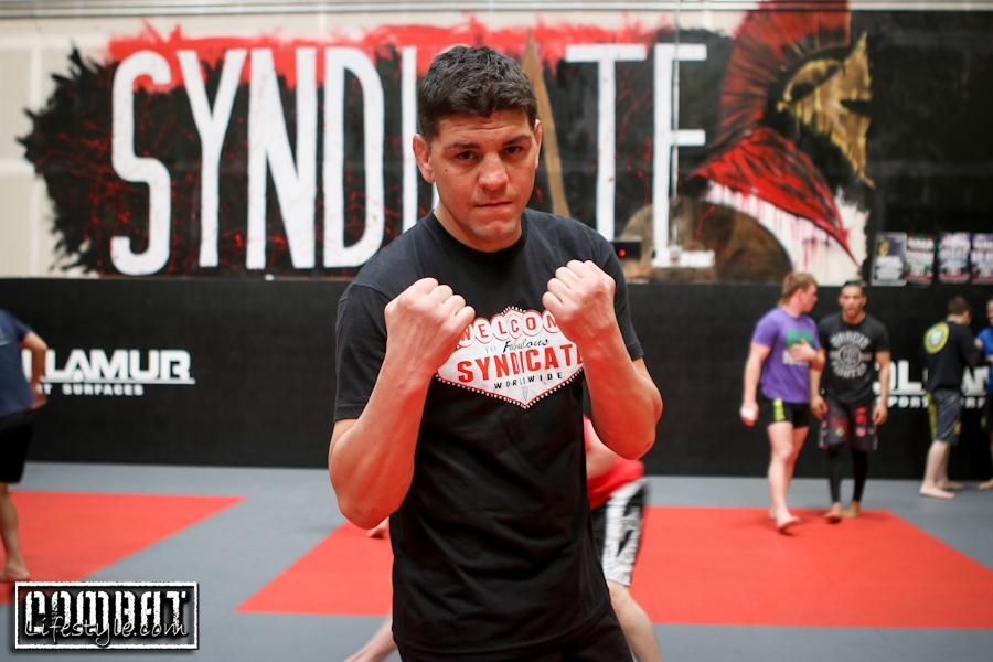 Nick Diaz Seminar Photos at Syndicate MMA