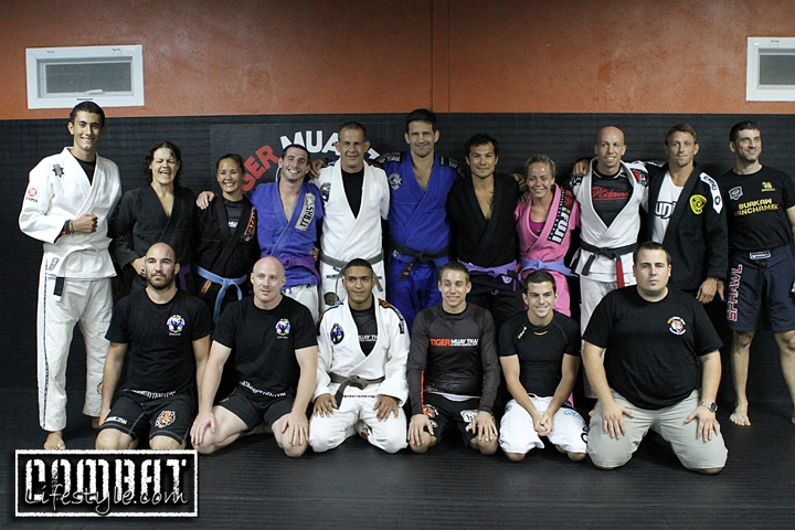 Murilo Bustamante Seminar at Tiger Muay Thai