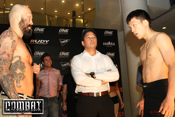 One FC Kings and Champions Weigh ins