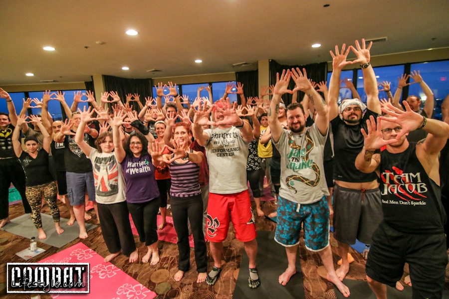 Diamond Dallas Page Yoga Wrestlemania Seminar
