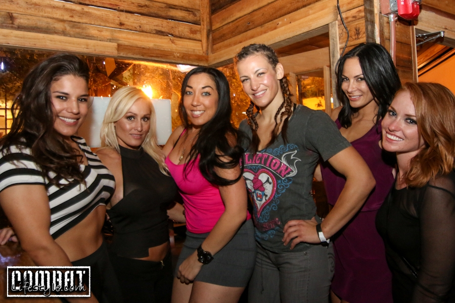 Miesha Tate Afterparty in Orlando