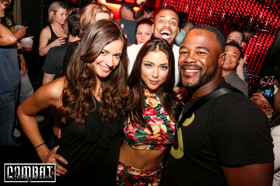 Arianny Celeste Hosts UFC 172 Preparty in Baltimore
