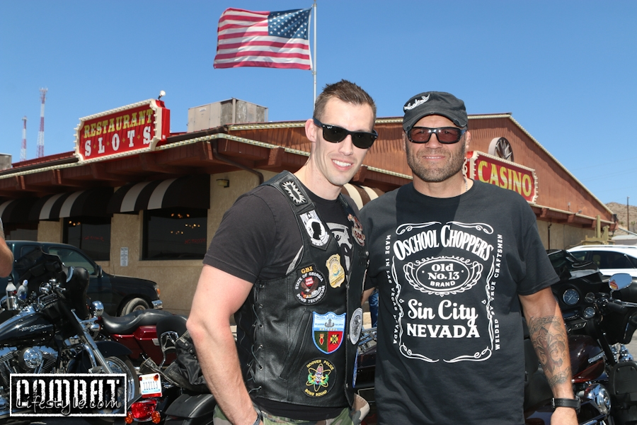 Xtreme Couture GI Foundation Ride for Our Troops