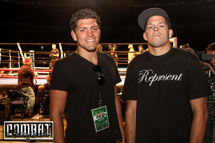 Nick Diaz Promotions Inaugural Fight Event WAR