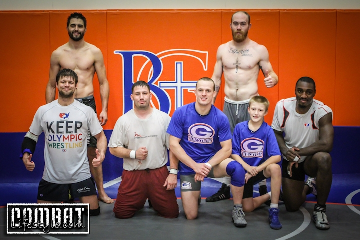 Carlos Condit Wrestles at Dana White's Alma Mater, Bishop Gorman