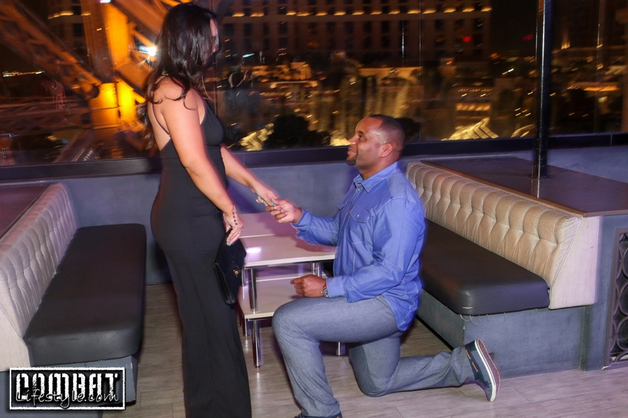 Daniel Cormier Proposes on the 4th of July