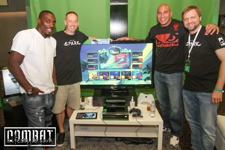 UFC Fighters Test Xbox Project Spark during Comic Con