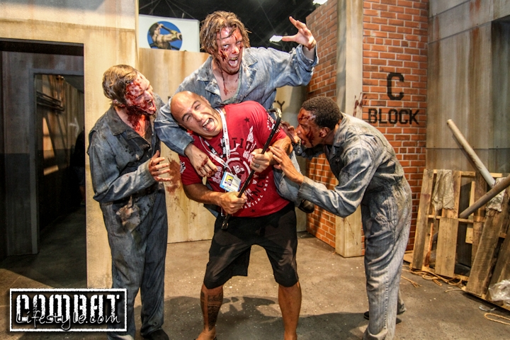 Brandon Vera Walking Dead Zombie Attack