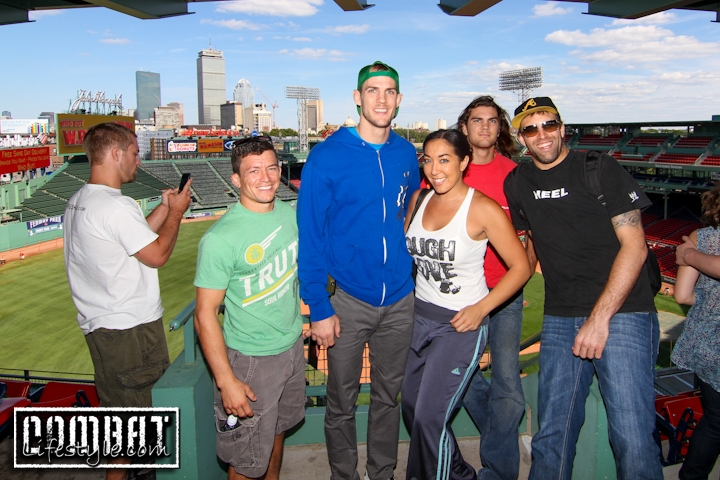 Beautiful Weather Welcomes UFC Fighters to Boston