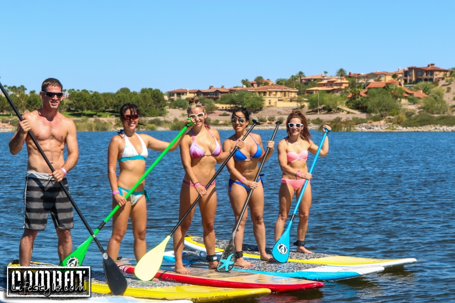 Paddleboarding with Miesha Tate and Xtreme Couture
