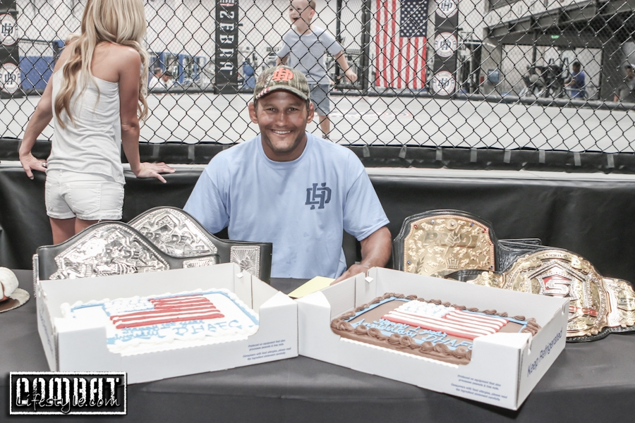 Dan Henderson Athletic Fitness Center 1 Year Anniversary Event