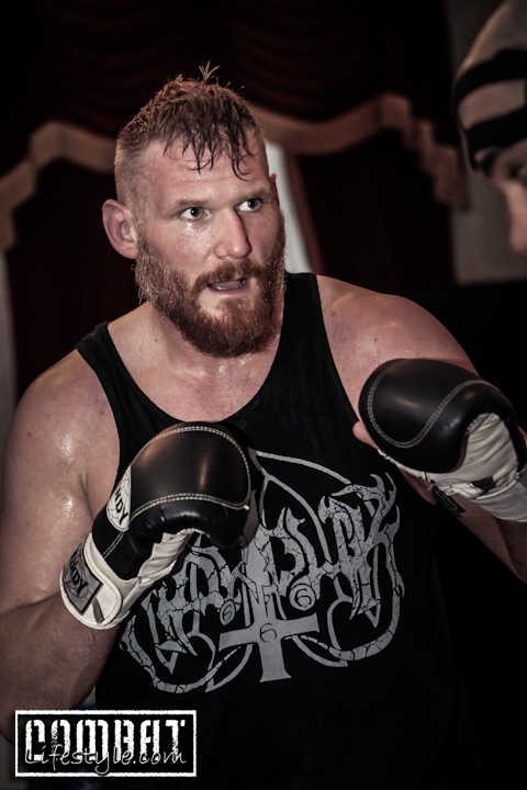 Josh Barnett Prefight Workout Thursday
