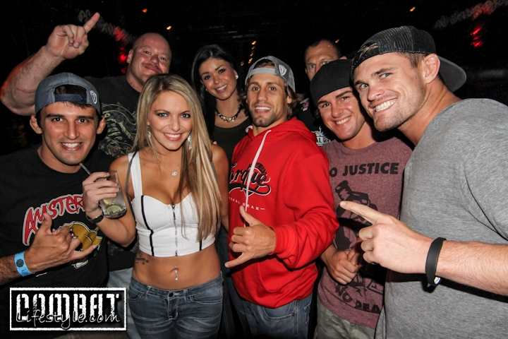Urijah Faber UFC 164 Fight Preparty
