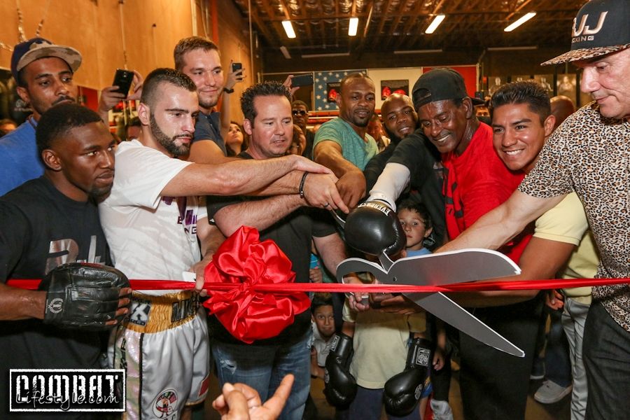 Roy Jones Jr Boxing Gym Grand Opening Celebration