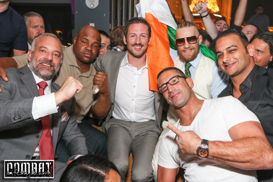 Conor McGregor Celebrated his win VEGAS Style