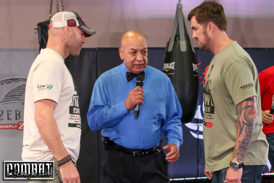 Randy Couture Latest Boot Brawl Championship Win