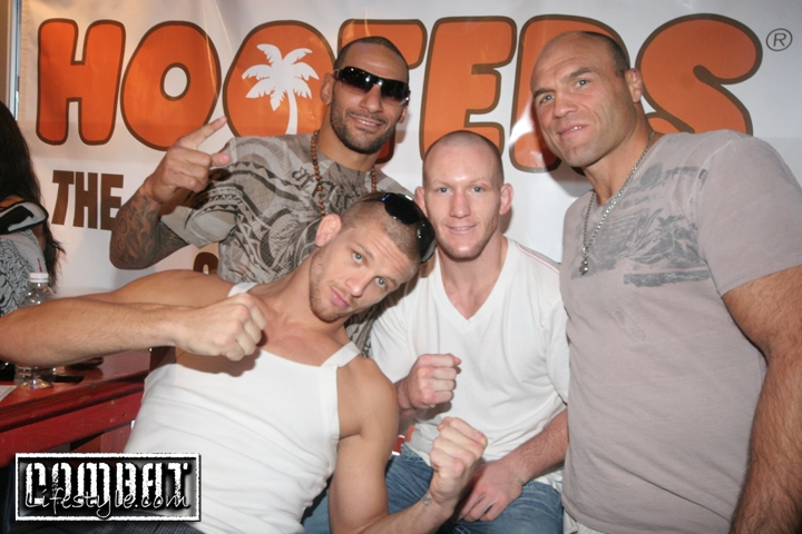 A Young Randy Couture Mike Pyle Jay Hieron and Gray Maynard