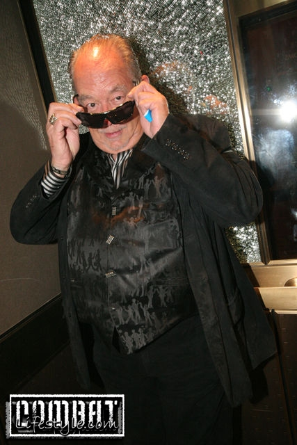 Robin Leach of Lifestyles of the Rich and Famous an MMA Fan?