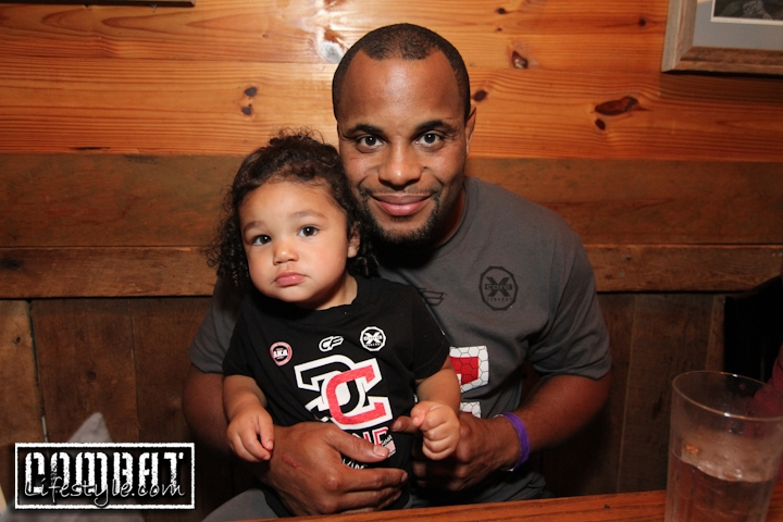 Daniel Cormier Family Time before his Fight