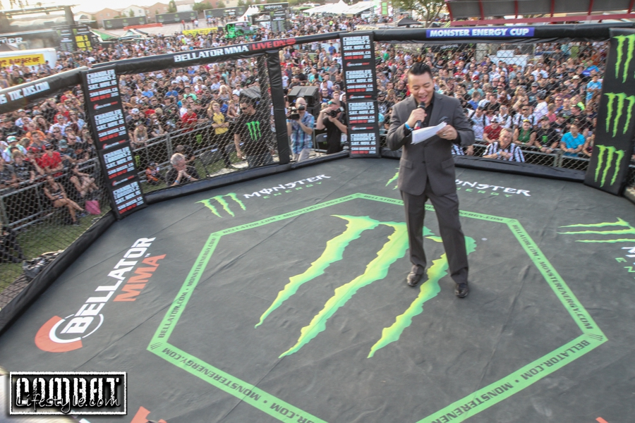 Bellator at Monster Energy Cup Supercross in Vegas