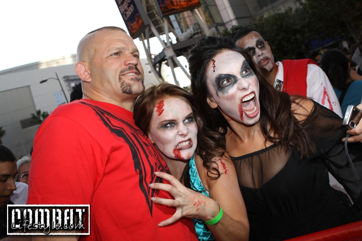 Chuck Liddell Attacked by Zombies