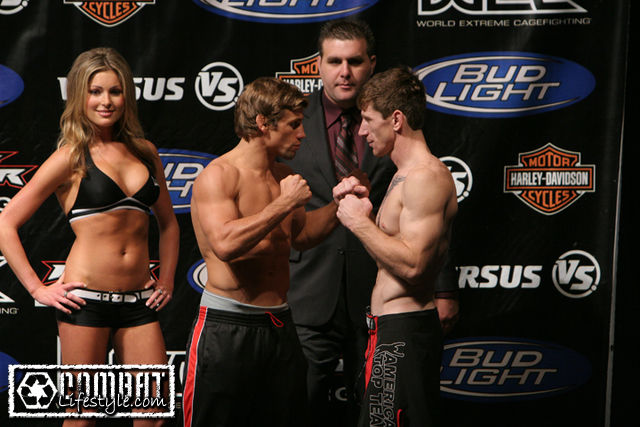 WEC 36 Weigh In Photos