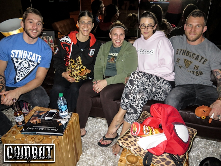Team Syndicate UFC Fight Night Viewing Party