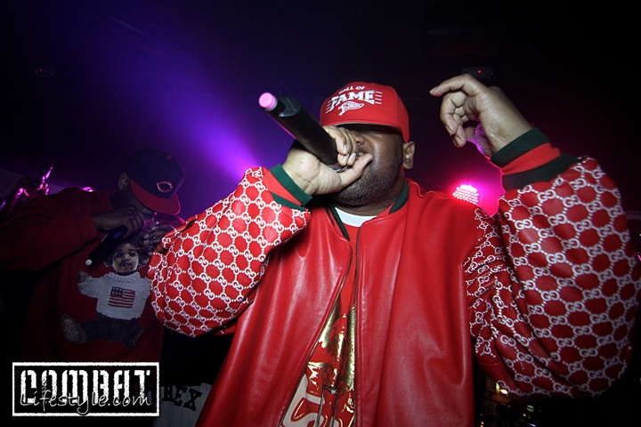 Fightland.com Website Launch party with GhostFace Killah