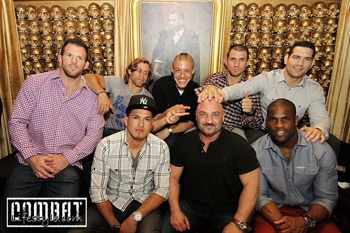 Staten Strong Charity event hosted by Theo Rossi, Chris Weidman, Demarco Murray