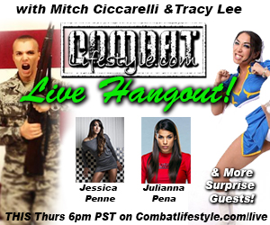 LIVE Video Hangout tonight with the Ladies of MMA