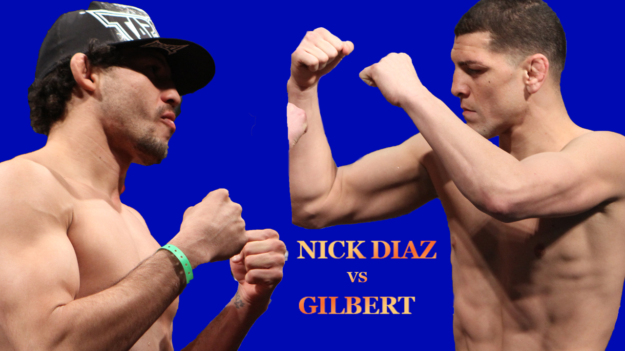 Nick Diaz vs Gilbert Melendez Who Wins