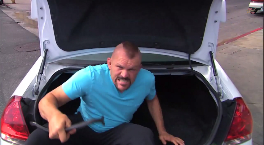 Chuck Liddell and his Road Rage